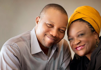 Amaka Igwe and her husband