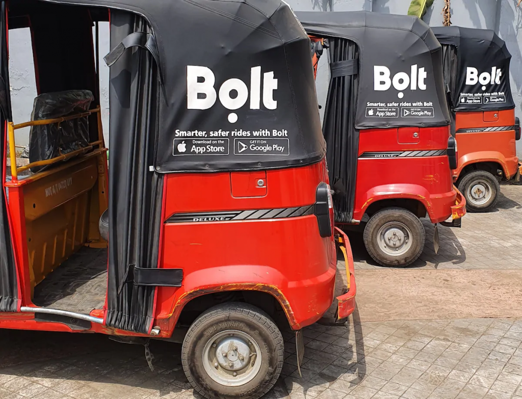 Bolt launches tricycles in Uyo, Bolt Raises $109m Debt Funding to Boost Verticals Amidst Decline in Ride-hailing