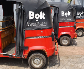 Bolt Beats Opay to the Tricycle Business in Uyo as The Company Diversifies From Cab-Hailing