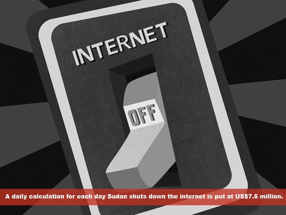 Internet shutdown