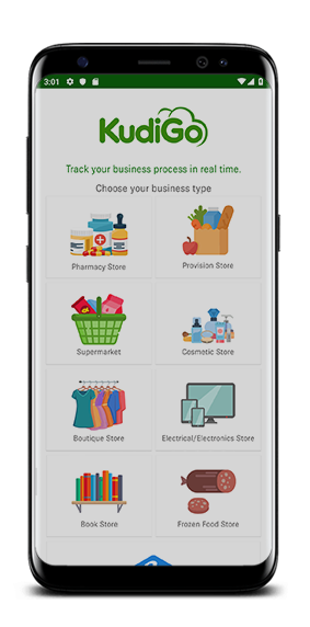 Storefront by KudiGO is a mobile based solution for retail store owners