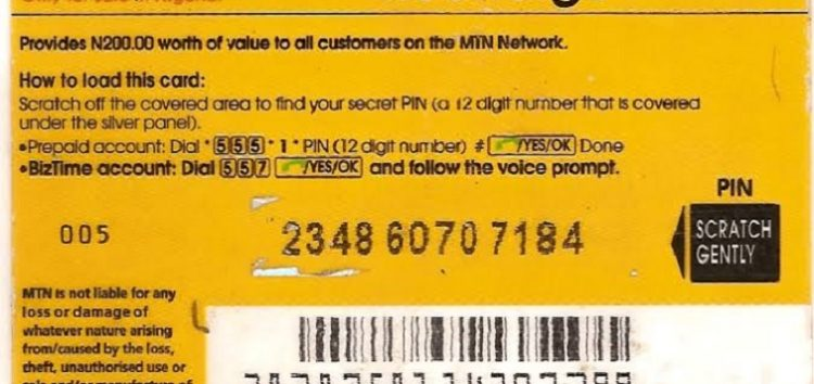 As MTN Phases Out Recharge Cards in Rwanda, Here is Why it Might not Work in Nigeria Just Yet