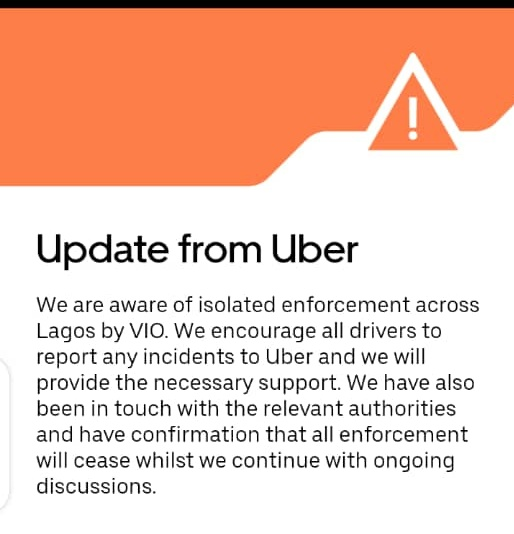 Lagos Government vs Uber/Taxify Drivers: Absolute Law Enforcement or Just Another Case of Witch Hunting?