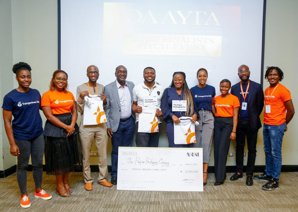 ARM Wraps up DAAYTA 2020, Announces Winner of  ₦12m Grant