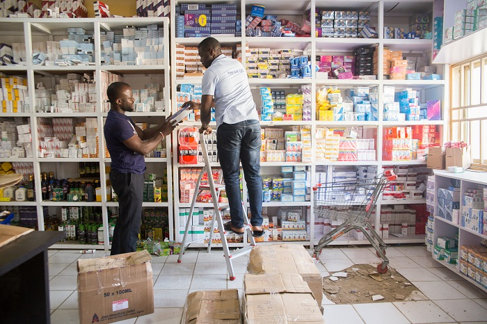 Pharmacies are often the first point of contact between Nigerians and health care service provider