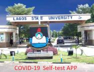 Lagos State University Develops COVID-19 Self-test App for Nigerians