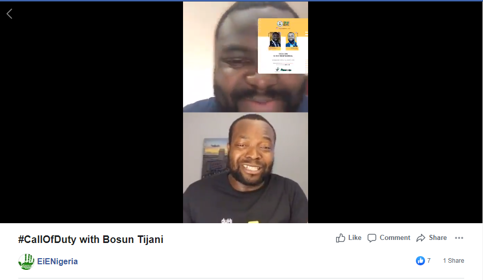 Major Takeaways From Iyin Aboyeji and Bosun Tijani IG live Discussion