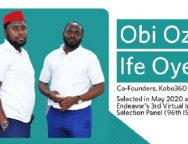 Kobo360's Obi Ozor and Ife Oyedele Join the 96th Cohort of Endeavor Entrepreneurs