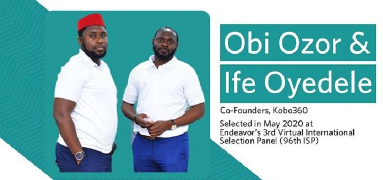Kobo360's Obi Ozor and Ife Oyedele Join the 96th Cohort of Endeavor Entrepreneurs