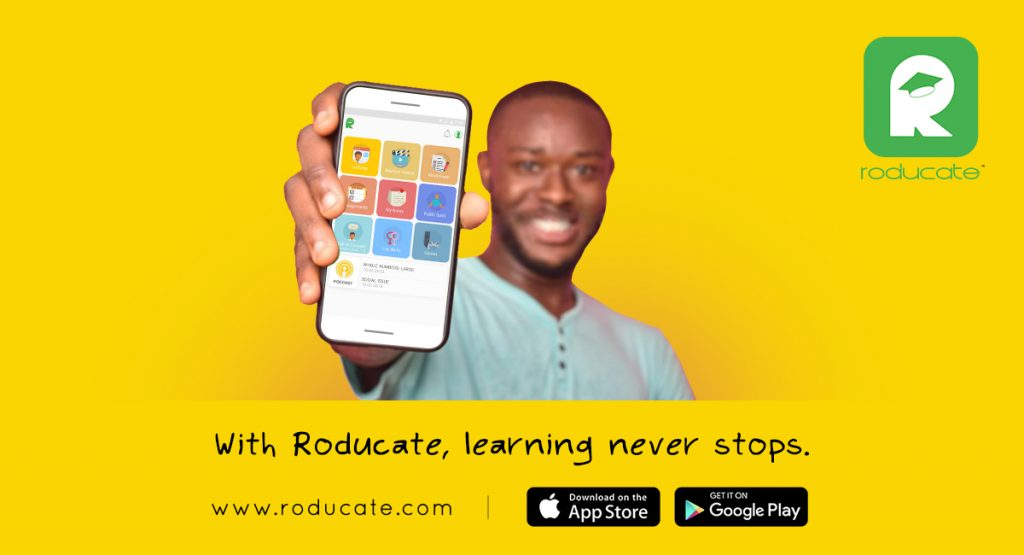Nigeria's first indigenous e-learning platform, Roducate is Deepen Online Learning Across Africa