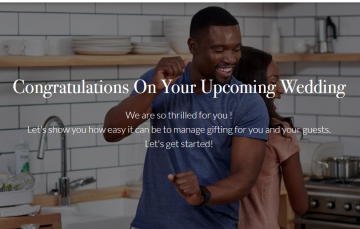 Wedding Registry Could Help Couples Get the Exact Gifts They Want For Their Wedding Day