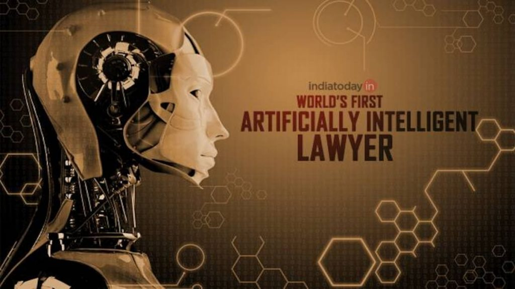 "the world's first artificially intelligent attorney"" built on IBM's cognitive computer Watson"