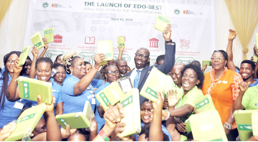 EdoBest initiative entails is the harnessing of data