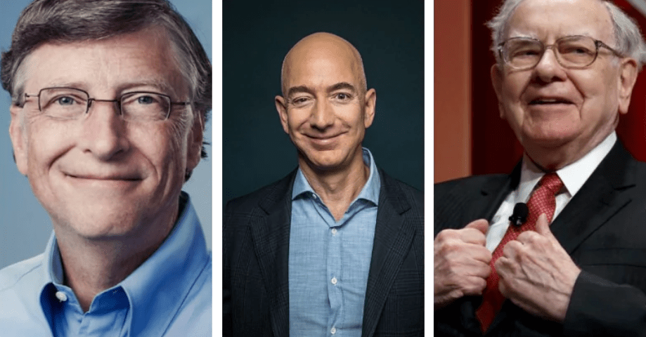 There are 2,095 Billionaires in The World and Tech Founders Dominate the  Top 10