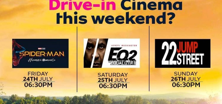 MTN Organizes Drive-in Cinema in Abuja, is this the Solution for Nigerian Movie Goers?