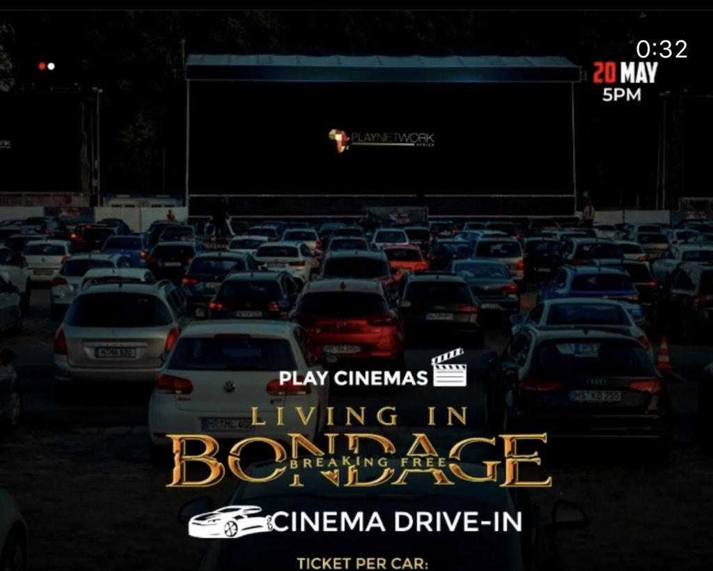 MTN Oragnizes Drive-in Cinema Experience For Viewers, is this the Solution Movie Viewers Have Been Anticipating?