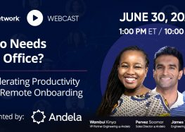 Who Needs the Office? Major Takeaways from Andela Conference on Accelerating Productivity with Remote Onboarding