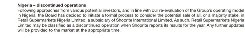 Why Shoprite is Leaving Nigeria After 15 years