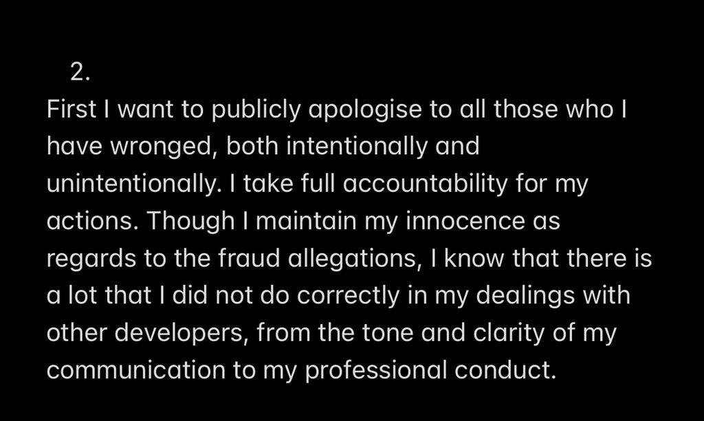 Favour Ori apologizes
