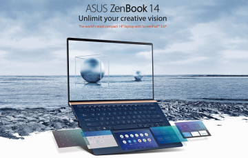 ASUS ZenBook 14 UX434 Review: Innovation Meets Functionality in this Solid Ultracompact Laptop with Added ScreenPad