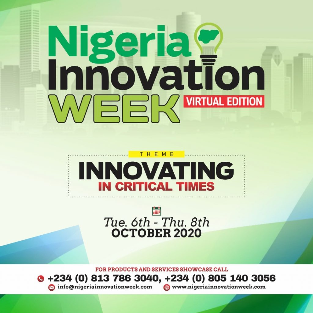 Nigeria Innovation Week 2020; Organisers Call for Participation
