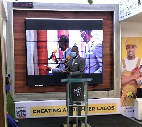 Ade Bajomo at the Lagos Smart Meter Hackathon
