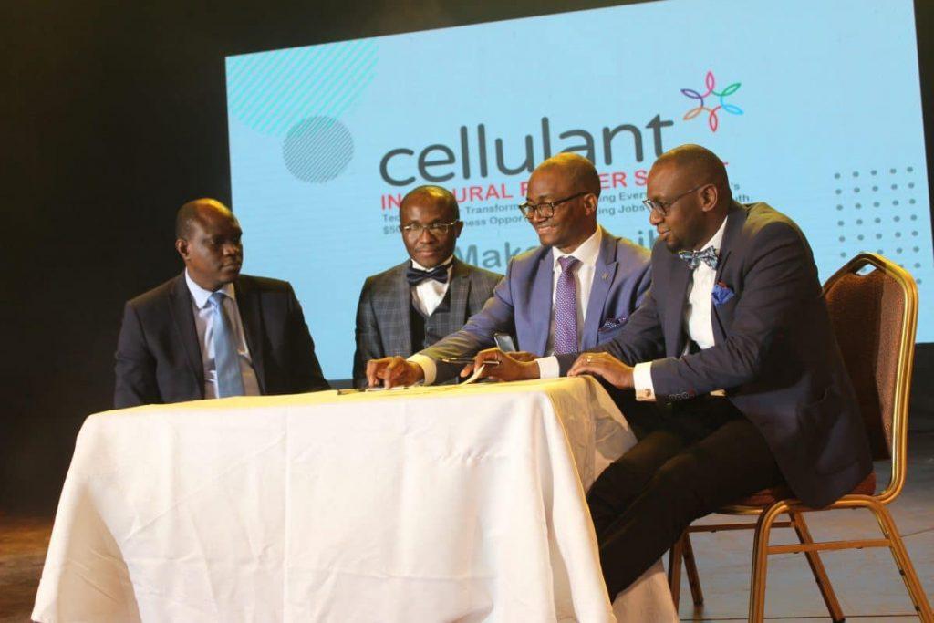 Bolaji Akinboro, Ken Njoroge and other Cellulant Executives