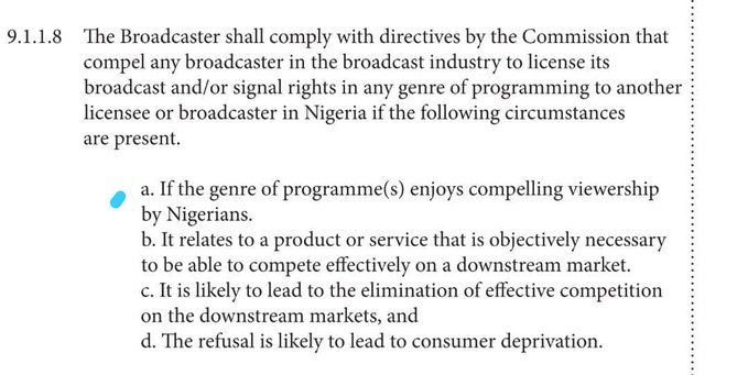FG to Review Ban on Content Exclusivity in Amended NBC Code