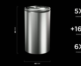 Tesla Unveils New Tabless Battery with 6x More Power and 5x More Energy