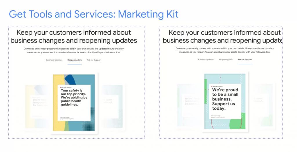 Google's marketing kit...