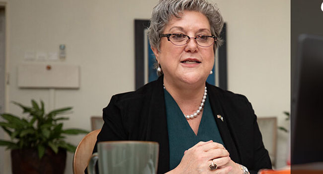 Mary Beth Leonard, US Ambassador to Nigeria. Photo: US Embassy.
