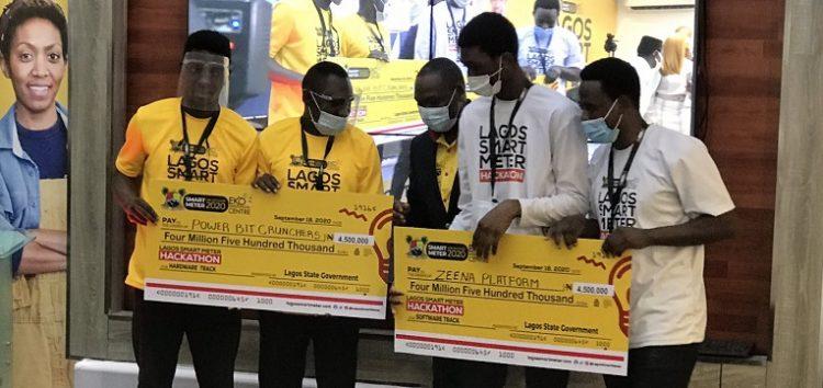 Zeena Platform and Power Bit Crunchers Win Lagos Smart Meter Hackathon, Get N5m Each