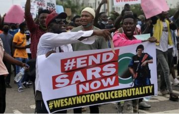 6 Kinds of People You'll Likely Meet At #EndSARS Protests