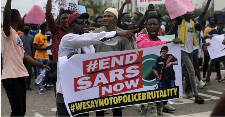6 Kinds of People You'll Meet At #EndSARS Protests