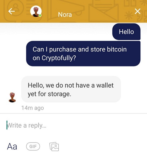 Cryptofully app screenshot