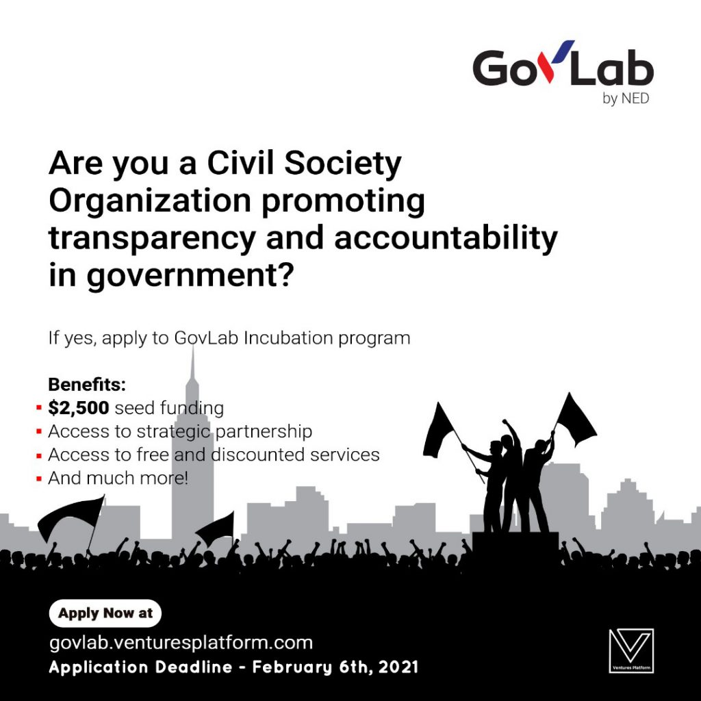 Ventures Platform Foundation Launches Gov Labs to Protect Nigerians' Human Rights during COVID-19 response