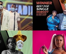 The 14th Headies had Over 34k Viewers on YouTube Until it Didn't