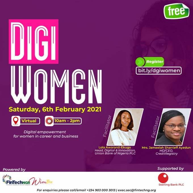 Tech Events this Week: NESG 2021 Economic Outlook, Digital Empowerment for Women and Others