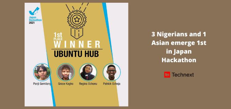 Nigerian Edtech Team, Ubuntu Hub Wins Japan Hackathon With its Blockchain Solution For Offline Learning
