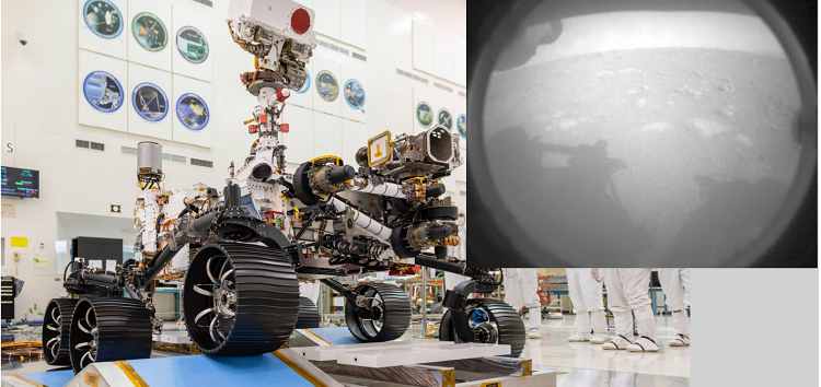 Global Tech Roundup: NASA's Perseverance Rover Touchdown on Mars