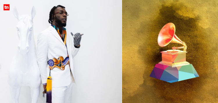 Burna Boy's 'Twice as Tall' Makes History as Over 1m Viewers Streamed the Grammys on YouTube