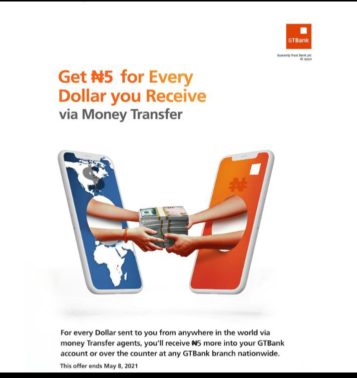 Only recipients of remittances via DMBs qualify for the Naira 4 Dollar Scheme