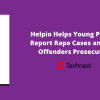 Helpio Helps Victims Report Rape/Sexual Assault Cases and Get Offenders Prosecuted