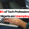 28.2% of Tech Professionals in Nigeria are Unemployed  - NBS Report