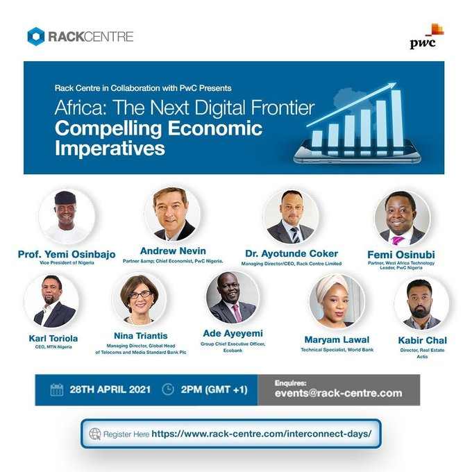Tech Events this Week: Cardano Africa, PwC Next Digital Frontier Webinar & Others