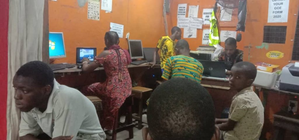 The dying cybercafe culture is still driving digital penetration in low-income areas