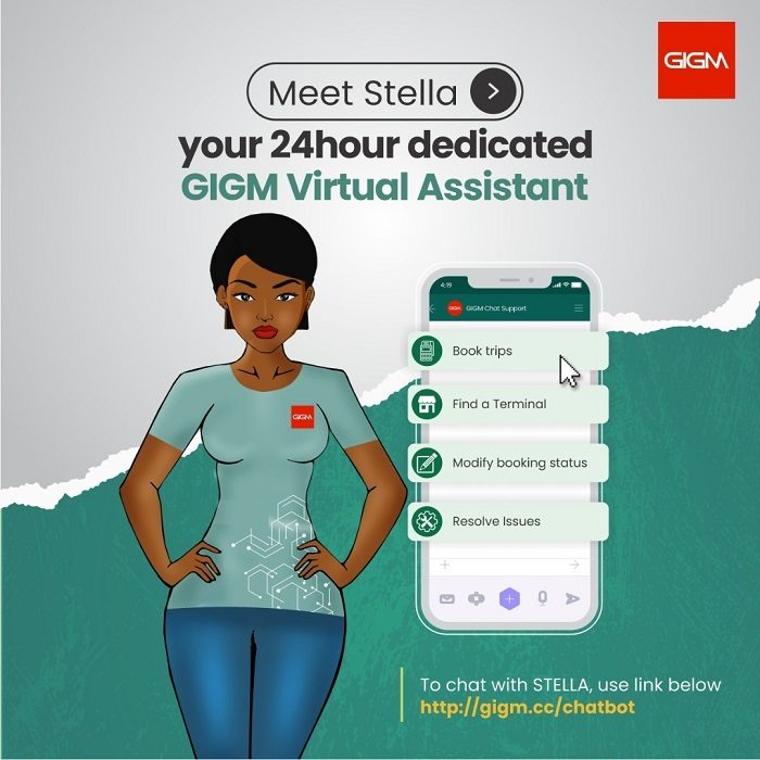 GIGM Virtual Assistant bot, Stella
