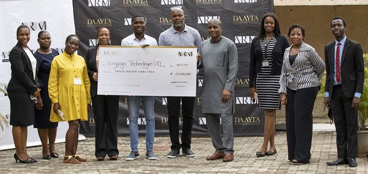 ARM wraps up DAAYTA 2021 as Tope Idris Sulaimon emerges winner of ₦12m grant