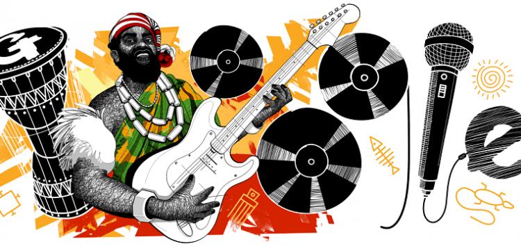 Nigerian music legend, Oliver de Coque gets Google Doodle posthumous birthday celebration
