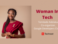 'Limiting Mindsets Prevent Women from Making the Most of Tech Communities' – Temilade Adelakun